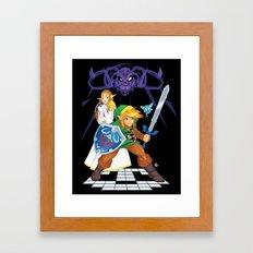 Hero of Hyrule Framed Art Print