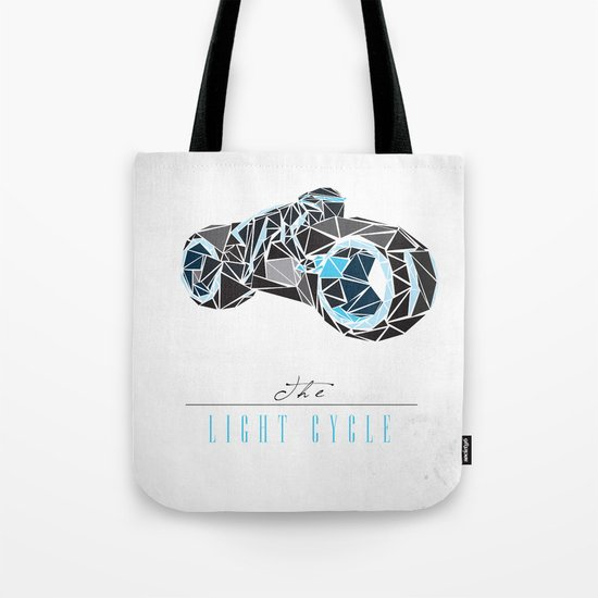 The Light Cycle Tote Bag