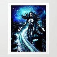 Asmodeus - Dark Of Night Art Print