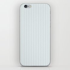 PATTERN: BLUE WAVE LINES iPhone & iPod Skin