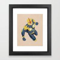 Nova Prime Framed Art Print