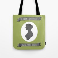 I always find Austen too short Tote Bag