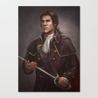 Assassin's Creed 3 - Young Haytham Canvas Print
