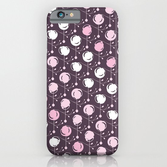 Forest Pattern ~ Cherry Blossoms iPhone & iPod Case