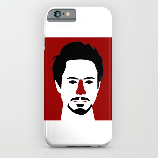 Robert John Downey Jr. iPhone & iPod Case