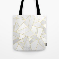 White Stone Tote Bag