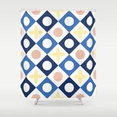 Floor tile 6 Shower Curtain