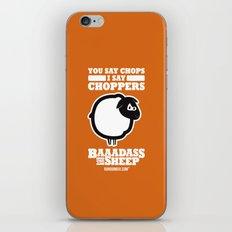 Baaadass the Sheep: Choppers iPhone & iPod Skin