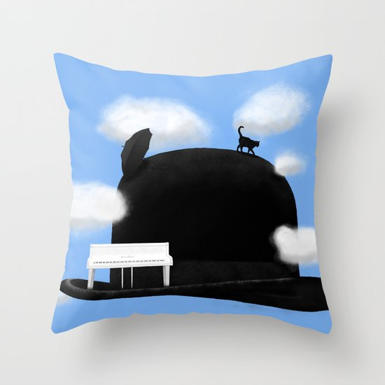 Gnossienne n°3 Throw Pillow