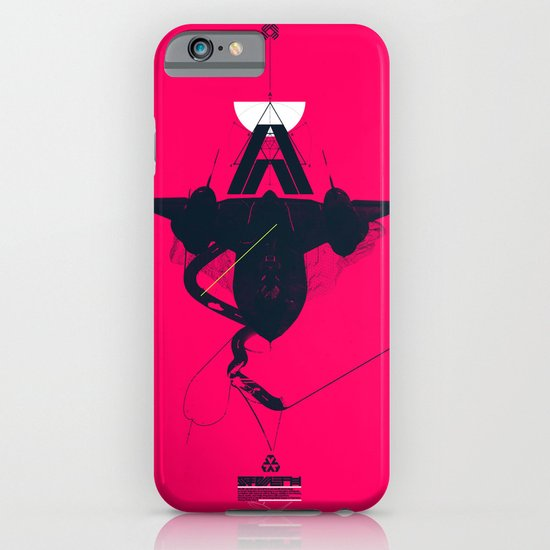 STEALTH:SR-71 Blackbird iPhone & iPod Case