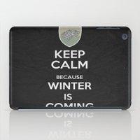 Keep Calm - Game Poster 02 iPad Case