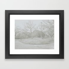 Lost stair Framed Art Print
