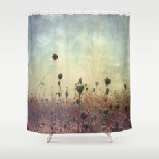 Her Mind Wandered in Beautiful Worlds Shower Curtain