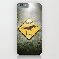 T-Rex Crossing iPhone 6 Slim Case