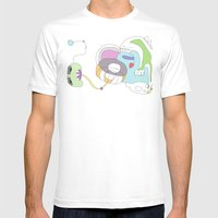 Funland 2 Mens Fitted Tee White SMALL