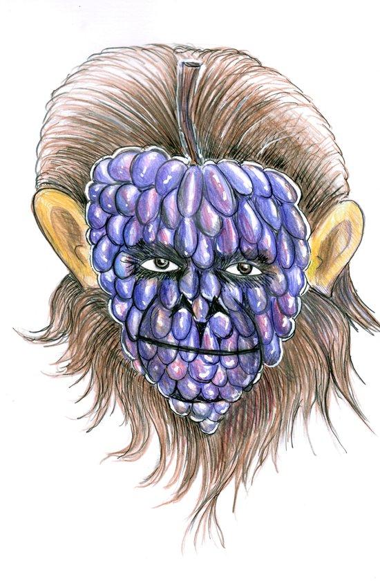Grape Ape Art Print