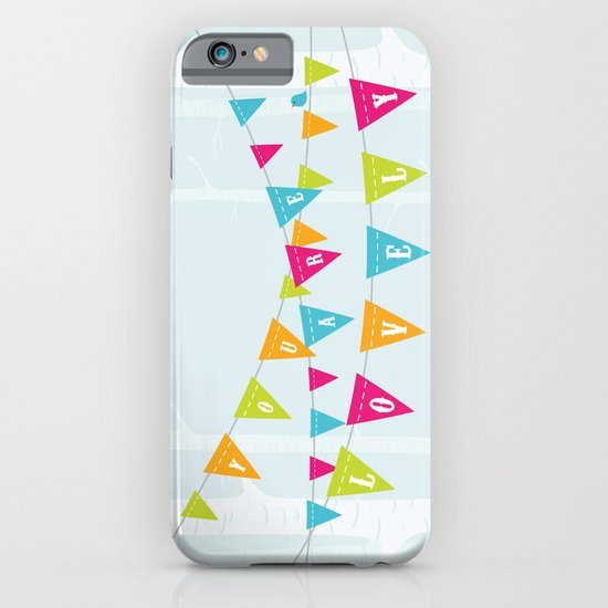 You Are Lovely iPhone & iPod Case