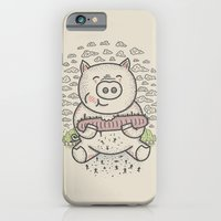 iPhone & iPod Case featuring Bacon's Sandwich by Leo Canham