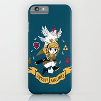 iPhone Cases featuring hyrule airlines by Louis Roskosch