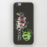 surrealist bird iPhone & iPod Skin
