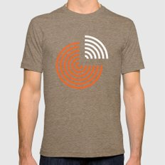 pie Mens Fitted Tee Tri-Coffee SMALL