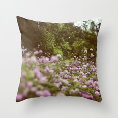 Among the Wildflowers Throw Pillow