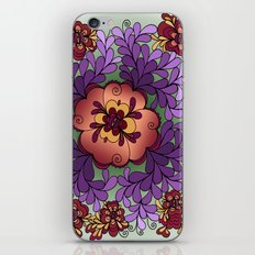 Pomegranate Poppies iPhone & iPod Skin