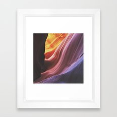 Antelope Canyon Framed Art Print