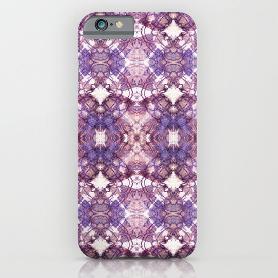 Purple Circle iPhone & iPod Case