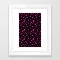 Aliens-Pink Framed Art Print