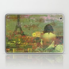 On The Roofs Of Paris Laptop & iPad Skin