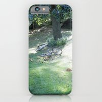 new york city, central park bikes iPhone 6 Slim Case