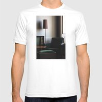 Mercado Negro Mens Fitted Tee White SMALL