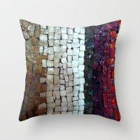 Mosaic #1 Throw Pillow