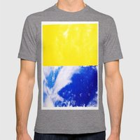 SKY/YLO Mens Fitted Tee Tri-Grey SMALL