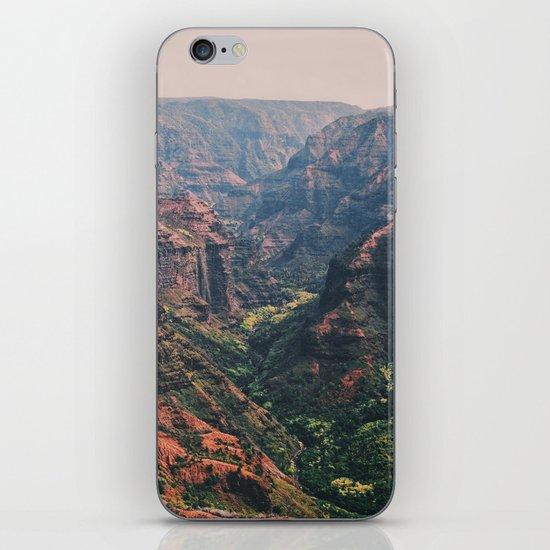 Vintage Hawaii Canyon iPhone & iPod Skin