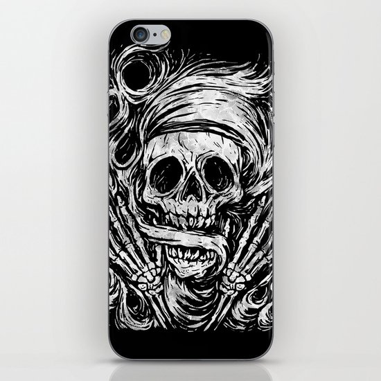 flowing ashes iPhone & iPod Skin