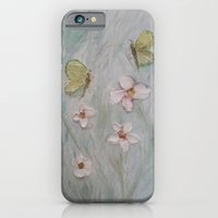 Butterfly Wishes and Flower Kisses iPhone 6 Slim Case