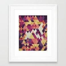 Geometri III Framed Art Print