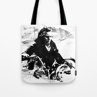 Beethoven Motorcycle Tote Bag