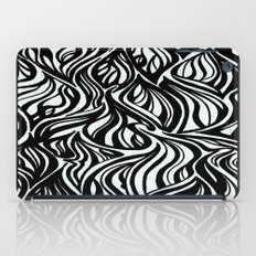 Back to Black 1  iPad Case