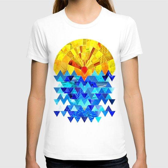 Sun & Sea Collage T-shirt
