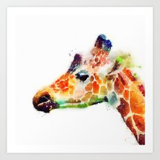 The Graceful - Giraffe Art Print