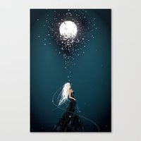 Can I keep the Moon Canvas Print