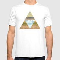 THREE EDGE PHYSICAL WORL… Mens Fitted Tee White SMALL