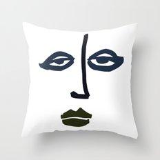 Simple Face Throw Pillow