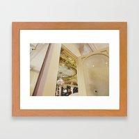 Cafe In Paris Framed Art Print