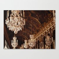 Hall Of Mirrors. Great H… Canvas Print