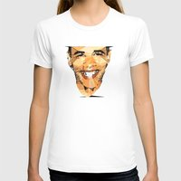 obama T-shirts featuring ICONS: Obama by LeeandPeoples