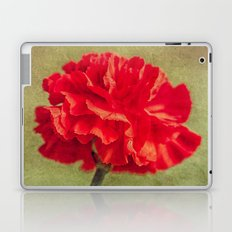 Red Carnation. Laptop & iPad Skin
